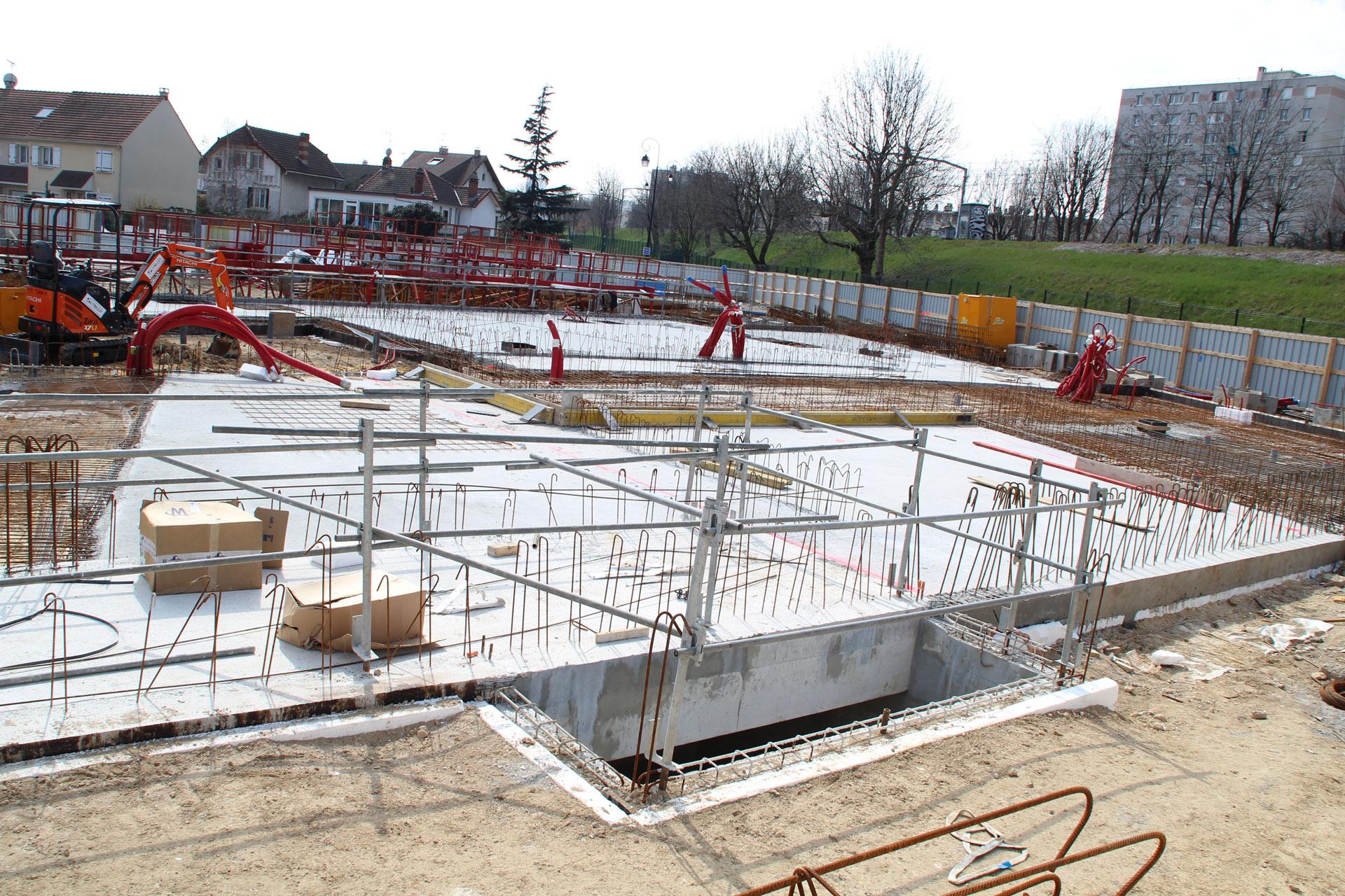 Betonstahlarmierungen, Betonstahl, Stahlbau, Bewehrungskorb, Bewehrungsgeflecht von Betonstahl Halle GmbH, im Werk und auf Außenbaustellen
