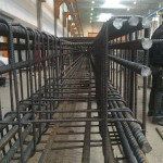 Eisenarmierung, Bewehrungsbau, Bewehrungen von Betonstahl Halle GmbH, im Werk und auf Außenbaustellen