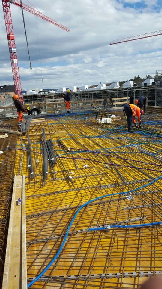 Baustahlarmierung, Eisenverlegung, Eisenflechter im Hochbau oder Tiefbau bundesweit auf Baustellen von Betonstahl Halle GmbH