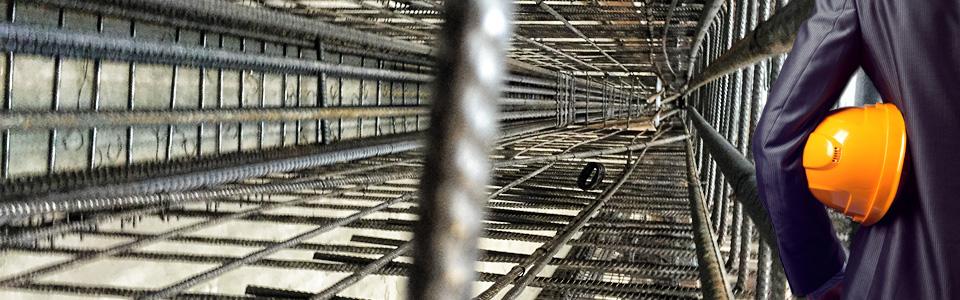 Betonstahl Halle GmbH - Fertigelemente und Fertigteile - Ihre Bewehrungskörbe vorgefertigt auf die Baustelle liefern lassen