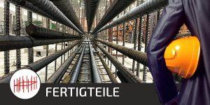 Betonstahl Halle GmbH - Fertigelemente und Fertigteile - Ihre Schlitzwände vorgefertigt auf die Baustelle liefern lassen